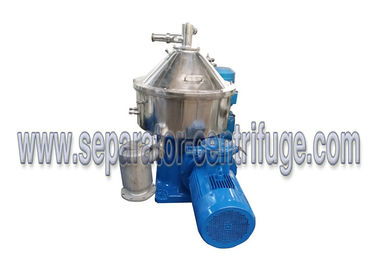 চীন Vertical Disc Stack 3 Phase Separator - Centrifuge To Separate Coconut Water সরবরাহকারী