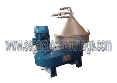 চীন Large Capacity Disc Stack Centrifuges , Cream High Efficiency Separator সরবরাহকারী