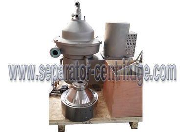 চীন 2-phase Disc Stack Centrifuges Model PDSM-CN Separator For fruit juice, milk, beer separation সরবরাহকারী
