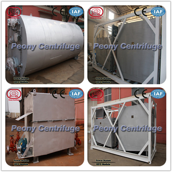 Container Type Supply Booster Module / Heavy Fuel Oil Handling System to Remove Solid and Water from Dirty Oil